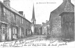 rue de la mairie NB le 15 mai 1912