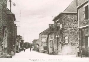 rue du Stade autrefois